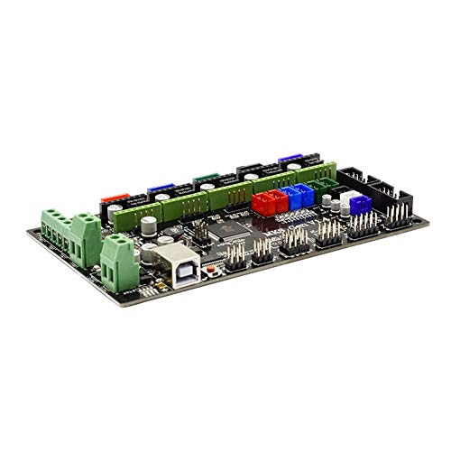 CFM 3d Printer Mainboard with Open Source Firmware Excellent Heat Dissipation Performance Small Heat and Reliable Interface Rich Reserved Port Low Power Consumption for 3d Printer