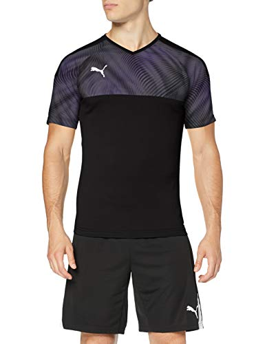 PUMA Cup Jersey Maillot, Hombre, Azul (Peacoat White), S