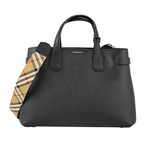 Burberry borsa a mano the banner donna nero