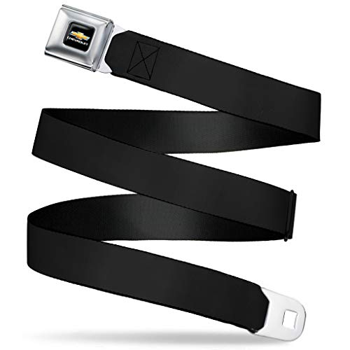"""Price comparison product image Buckle-Down Seatbelt Belt - Black - 1.0"""" Wide - 20-36 Inches in Length"""