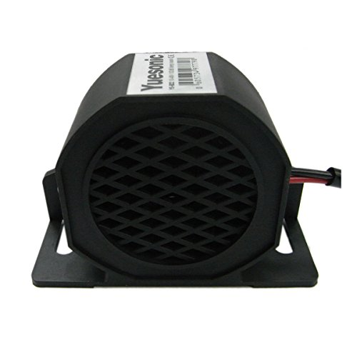 Yuesonic 102dB Beep Sound Backup Alarm Rückfahrwarner für 10-48V Fahrzeuge