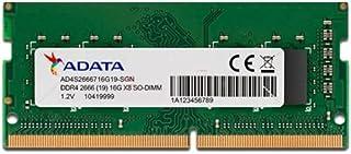 XPG Premier 16GB Single DDR4 2666Mhz CL19 PC4-21000 260-Pin SODIMM Memory RAM Single (AD4S266616G19-SGN)