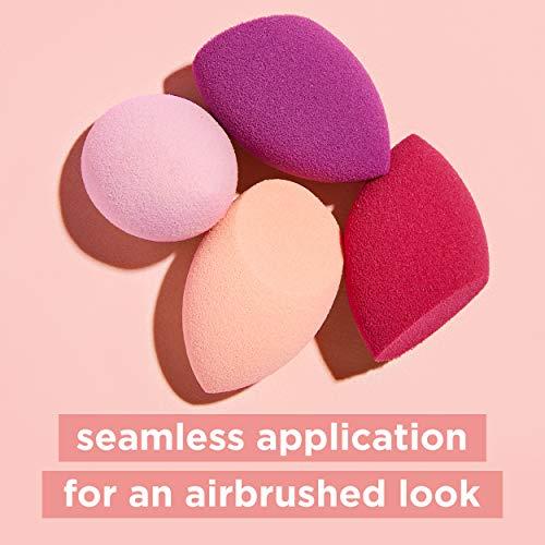 Real Techniques Mini Miracle Complexion Sponge Makeup Blender, Set of 4 Beauty Sponges