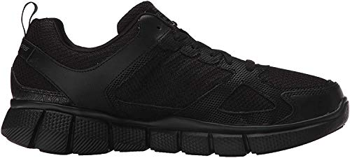 Skechers Sport Men's Equalizer 2.0 True Balance Sneaker,All Black,12 M US
