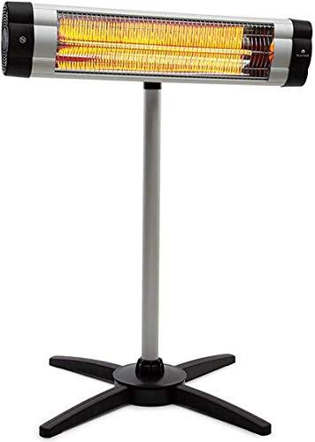 DFR-lumb Calentadores espaciales, Calentador eléctrico Inteligente 2000W, Tiempo de Cita, diseño de luz Baja, Temperatura Constante Inteligente Termostato