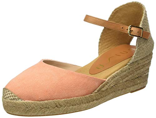 Unisa Damen CISCA_20_ECL_CAN Espadrilles, Orange (Orang/Pump Orang/Pump), 39 EU