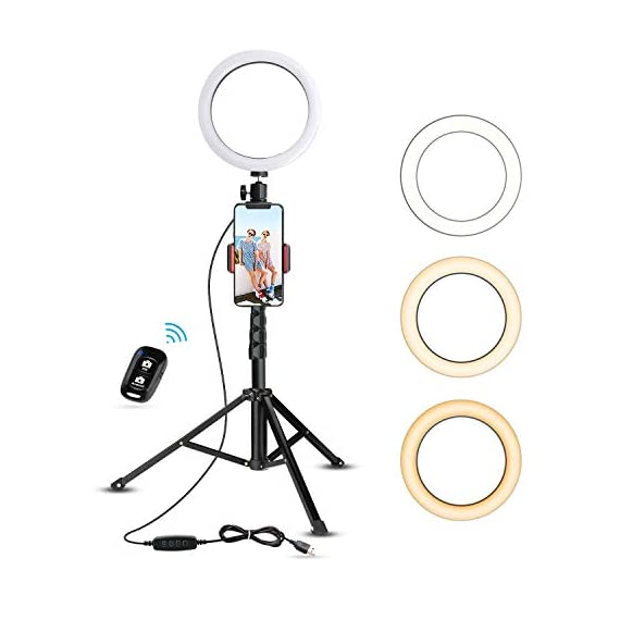 8-Selfie-Ring-Light-with-Tripod-Stand-Cell-Phone-Holder-for-Live-StreamMakeup