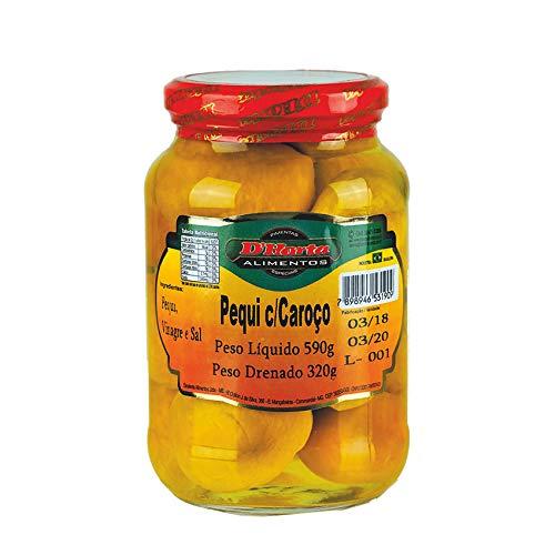 Pequi-Früchte mit Kern, Glas 590g (Abtropfgewicht 320g) - Pequi com Caroço D´HORTA 590g