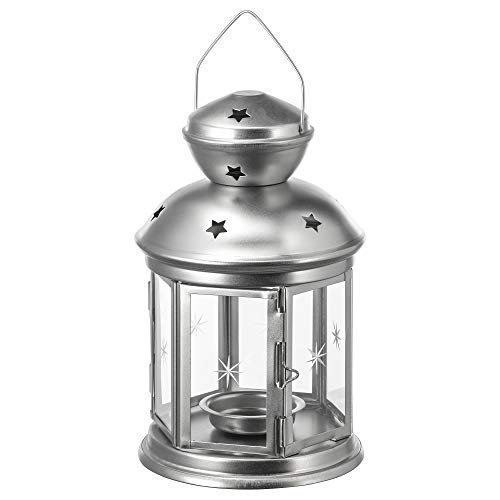 Ikea 264.722.00 Farol para Vela de té, galvanizado