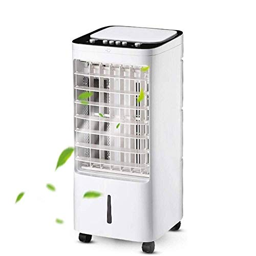Portatile personale mobile del condizionatore d'aria del ventilatore, mini dispositivo di raffreddamento evaporativo 3 velocità della ventola, Super silenzioso for casa, ufficio e camera da letto LOLD