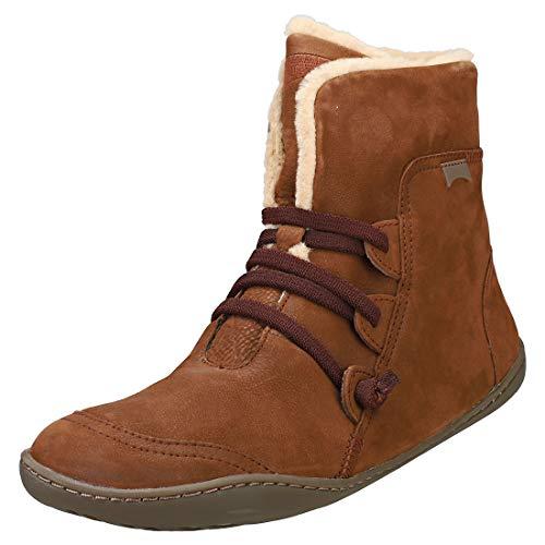 CAMPER Damen Peu Hohe Sneaker, Braun (Medium Brown 210), 36 EU