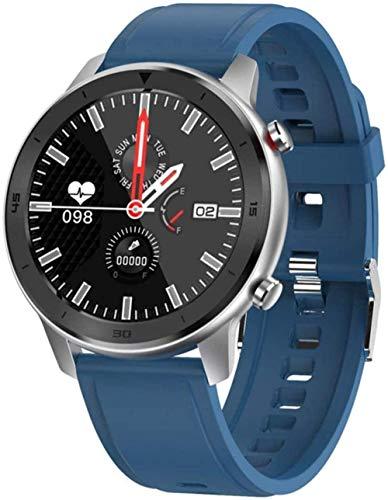JSL Reloj inteligente para hombres Ip68 impermeable fitness actividad Tracker mujeres dispositivos usables smartwatch banda monitor ritmo cardíaco reloj deportivo D-G