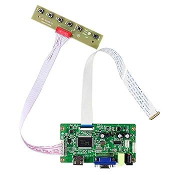 HDMI+VGA Input Controller Board Kit LCD Driver Board For B156HAN01.1 LP156WF4 11.6   13.3   14   15.6   1920x1080 30Pins edp LCD Screen