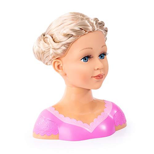 Bayer Design - Charlene Super Model, Busto muñeca para peinar y maquillar...