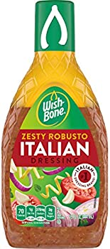 Wish-Bone Salad Dressing, Zesty Robusto Italian, 15 oz