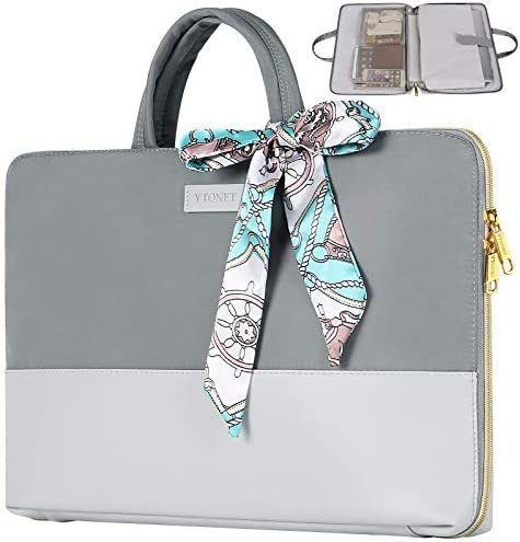 Laptop Case for Women 15 6 inch Slim Water Resistant TSA Business Travel Laptop Sleeve Girl product image