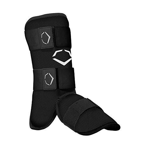 EvoShield Youth SRZ-1 Batter's Leg Guard - Black