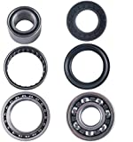 East Lake Axle rear differential bearing & seal kit compatible with 660 Grizzly 2002 2003 2004-2008