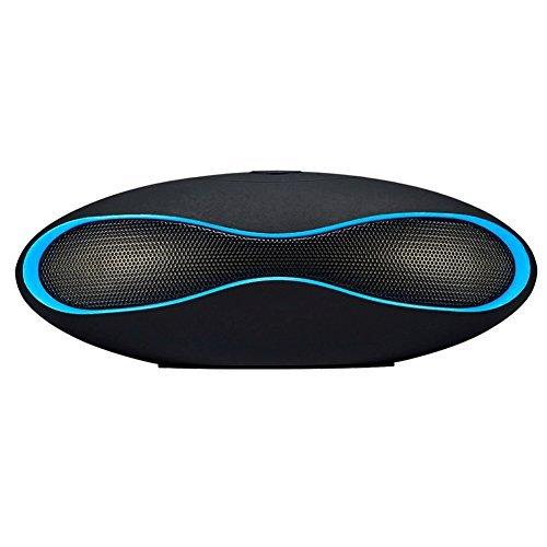 Hopestar Bluetooth Speakers Mini Portable Wireless Speaker Support TF Card (Blue)