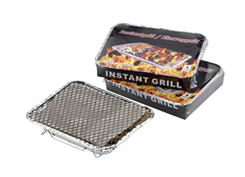 ACTIVA 10050 Einweggrill Einmalgrill aus Aluminium