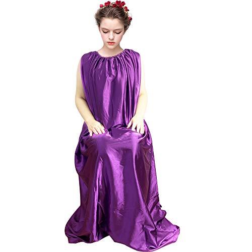 BeaYou Yoni Steam Gown, Vaginal Steaming Bath Robe, Spa Fumigation Sauna Cloak Bathrobe, One Size Fits All- Purple