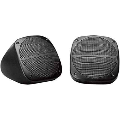 Jensen HDS3000 60 Watts Weatherproof Heavy Duty Dual Cone Surface-Mount Speakers, 1 Pair