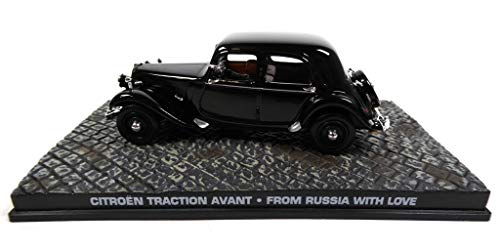 James Bond Citroen Traction Avant 1954 007 from Russia with Love 1/43 (DY040)