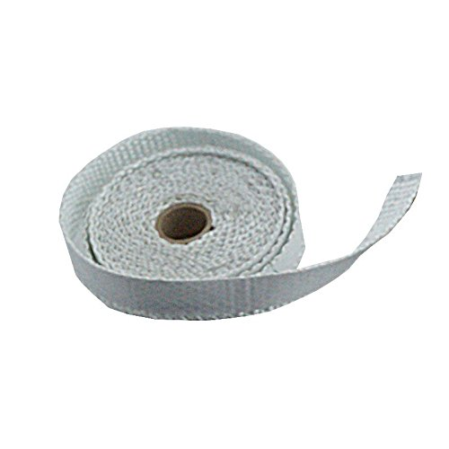 Dichtband selbstklebend weiß 20mm x 2mm ideal für Scheibendichtungen von Kaminöfen