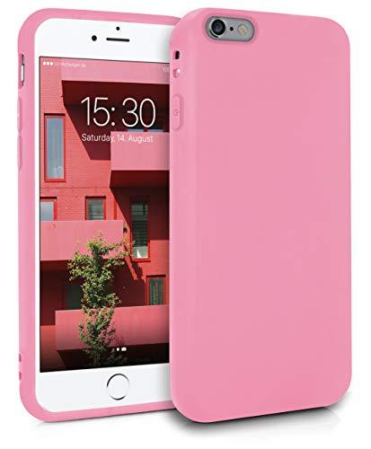 MyGadget Cover per Apple iPhone 6 / 6s - Custodia Protettiva in Silicone Morbido – Case TPU Flessibile/Antiurto/Antigraffio/Ultrasottile - Rosa