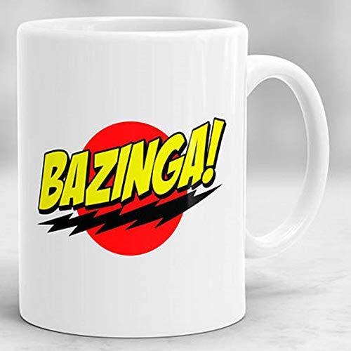Bazinga Becher Urknalltheorie Becher Sheldon Cooper Becher Keramik Kaffeetasse Tasse