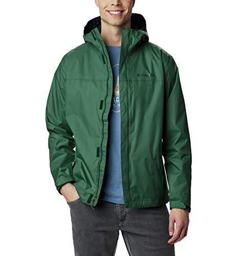 Columbia Watertight II Waterproof, Breathable Rain Jacket Chaqueta, Selva de Lluvia, L para Hombre