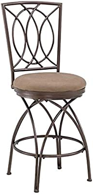 Magnificent Amazon Com Powell Big And Tall Metal Crossed Legs Counter Squirreltailoven Fun Painted Chair Ideas Images Squirreltailovenorg