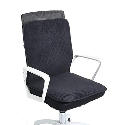 GuoYQ Beheiztes Sitzpolster Heizkissen, Universalsitz für Home Office Stuhl Auto Sitzstuhl Hüftmassage Setzt Füße Warmen Winter