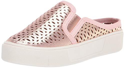 VOLATILE girls Sneaker Mule, Rose Gold, 1 Little Kid US