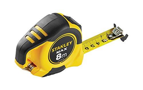 Stanley STHT0-36118 Flexómetro 8m x 25mm-Gancho magnético-STHT0-36118, Único