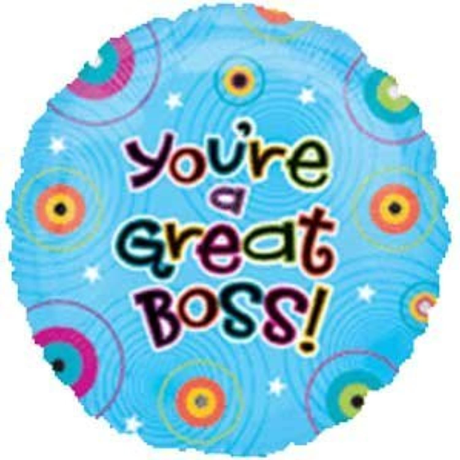 Single Source Party Supplies - 18  Youre A Great Boss Mylar Foil Balloon