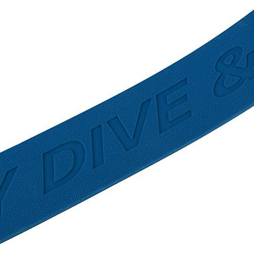 Aoutecen Robustos Accesorios de Buceo con cinturón de Peso de 1 Pieza con Hebilla de liberación rápida para bucear(Diving Belt)