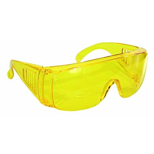 Occhiali protettivi 2010A monolente a mascherina gialli