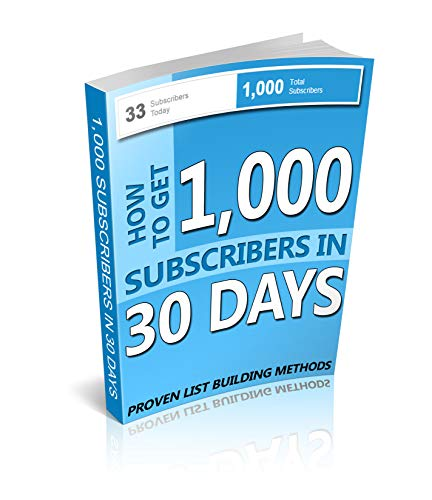 How to get 1000 subscribers in 30 days (English Edition)