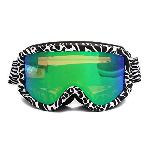 GTRR Zweischichtige Anti-Fog-Schutzbrille Für Skibrillen Zur Verbesserung Der Reinigung Von Schneebrillen Für Outdoor-Sport-Skibrillen