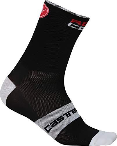 CASTELLI 4517035 Unisex Socken - Erwachsene, Unisex, C4517035, Schwarz , S-M