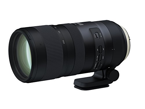 Tamron SP 70-200mm F/2.8 Di VC G2 for Canon EF DSLR (6 Year Limited USA Warranty for New Lenses Only)