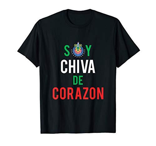 Las Chivas Guadalajara Team Soy Chiva De Corazon T-Shirt