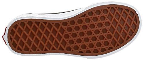 Vans Ward Canvas Sneaker, Multicolore Flame Check Pewter White Wd7, 34 EU