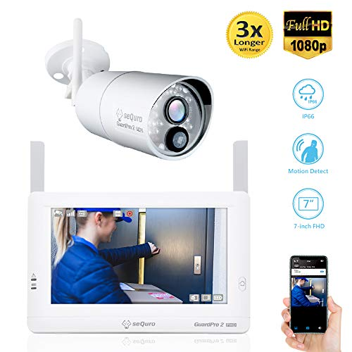 SEQURO GuardPro2 1080P Wireless Security Camera...