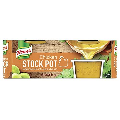 Knorr Chicken Stock Gel Pots 8 Pack, 224g