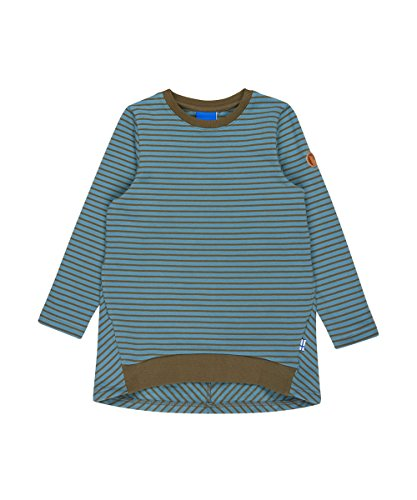 Finkid Lumikki smoke blue capers Mädchen Winter Jersey Tunika Kleid