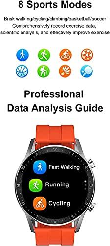 DT92 reloj inteligente hombres s Bluetooth llamada 1 72 pulgadas pantalla táctil Retina pantalla de carga inalámbrica smartwatch para Android IOS-C-B