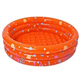 HHCP Baby Kids Piscina Rotonda Gonfiabile, Ocean Ball Pool Gioca Nuoto Infant Water, Swim Center for Ages 3+, Outdoor, Garden, Backyard, Summer Water Party