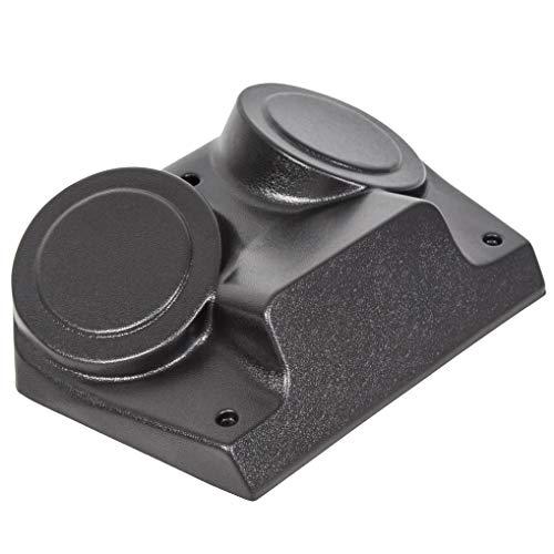 JMTAAT Matte Black Overhead Stereo Console for Polaris RZR 800 S RZR4 570 XP900 RZR XP1K UTV